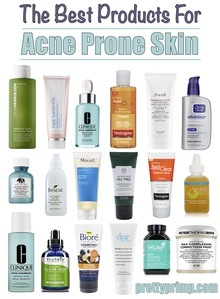 skincare for acne prone skin