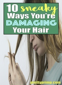 causes of hair damage