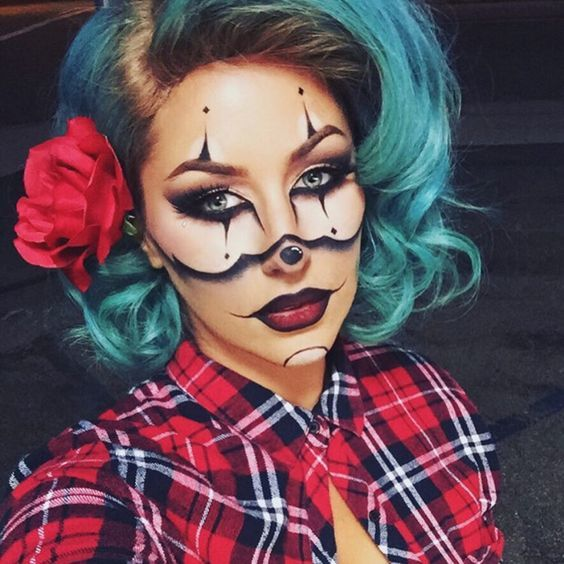 Halloween Makeup Ideas Easy Makeup Looks.16 Pretty Halloween Makeup Ideas That Are So Easy To Create