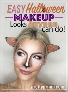 Cute Halloween Makeup Easy.16 Pretty Halloween Makeup Ideas That Are So Easy To Create